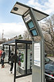 Solar Kiosk at Metro-North Station (13961523266).jpg