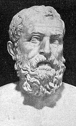 Szolón egy római kori portréja, Nápoly