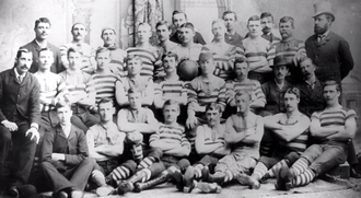 South Adelaide Football Club - The 1877 premiership team.
