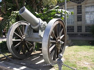 RML 6.3-inch howitzer - One of the two guns used during the Siege of Ladysmith