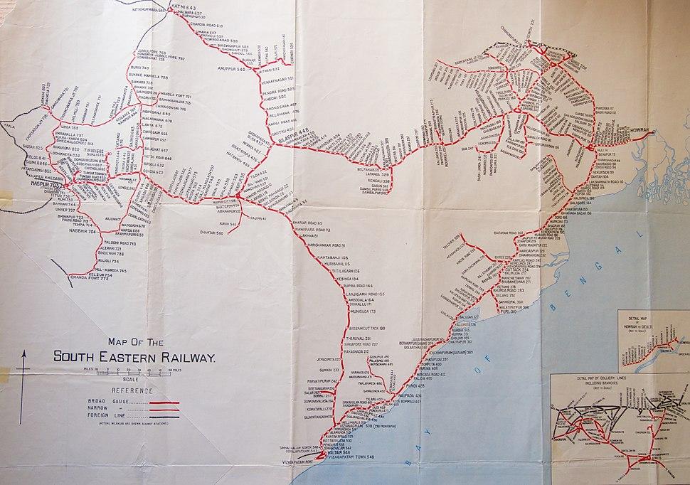 South Eastern Railway Detail 1955