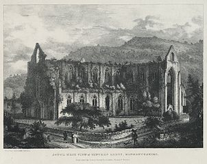 South West View of Tintern Abbey, Monmouthshire