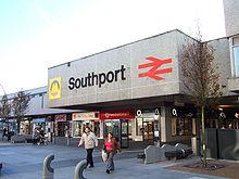 Southport Merseyside England UK Wayfarers arcade shopping centre ...