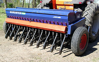 Seed drill - A sowing machine which uses the seed drill concept
