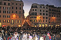 Spanish Steps in new year 2010.jpg