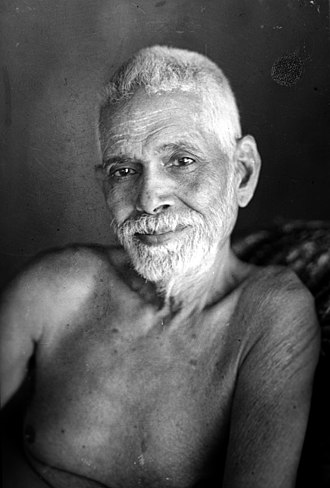 Ramana Maharshi - Sri Ramana Maharshi in his late 60s.