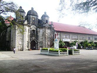 San Luis, Pampanga - St. Aloysius Gonzaga Church (2008 photo)