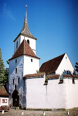 Fortified church - Image: St. Arbogast 2