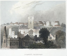 St. David's Cathedral: from the ancient bishop's palace