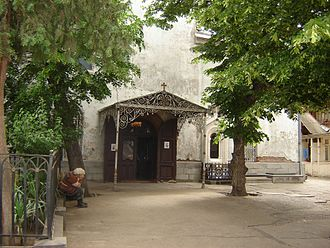 Sayat-Nova - The tomb of Sayat Nova at the Cathedral of Saint George in Old Tbilisi