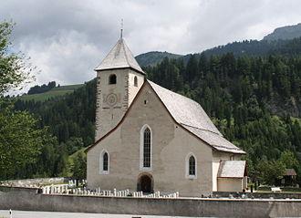 Churwalden - Image: St. Maria und Michael 2jpg