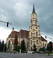 St. Michael's Church, Cluj-Napoca. Viewed from the north..jpg