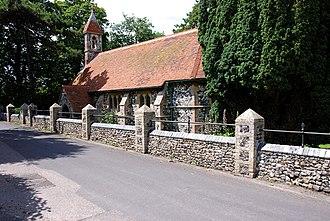 Acol, Kent - Image: St. Mildreds Church, Acol