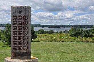 Saint Croix Island, Maine - Viewed from New Brunswick