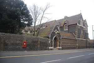 St Augustine's Abbey, Ramsgate - Image: St Augustine's Abbey by N Chadwick Geograph 3117091