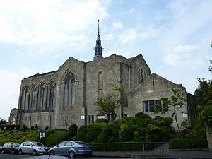 St John's Renfield Church - The church seen from Beaconsfield Road.
