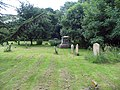 St Martin's Church, Herne, Kent - Churchyard - geograph.org.uk - 857955.jpg