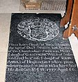 St Mary's Church, Pulham St Mary, Norfolk - Ledger slab - geograph.org.uk - 1020965.jpg