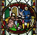 St Mary de Castro south aisle E window 1.jpg