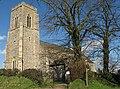 St Michael's Church, Swanton Abbott - geograph.org.uk - 629773.jpg