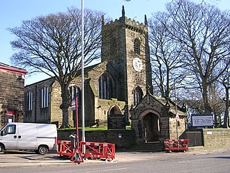 Guiseley - St Oswald's Church, Guiseley