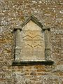St Phillips, Little Rollright, Bell Tower Inscription, 2011 04-29.JPG