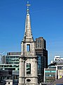 St Vedast Foster Lane church spire from One New Change 01.jpg