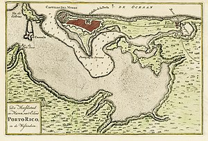 San Juan, Puerto Rico - San Juan and bay, Puerto Rico, 1766