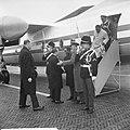 Staatsbezoek president Nyerere van Tanzania, vliegveld Soesterberg, minister-pre, Bestanddeelnr 917-6696.jpg