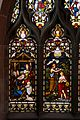 Stained glass window, St Michael's Church, Chester 2.jpg