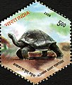Stamp of India - 2008 - Colnect 157976 - Aldabra Giant Tortoise Aldabrachelys gigantea.jpeg