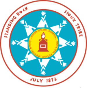 Standing Rock Indian Reservation - Image: Standing Rock logo