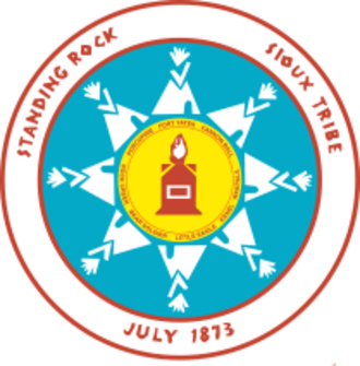 Standing Rock Indian Reservation - Image: Standing Rock logo