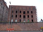 Stanley Warehouse To South Of Tobacco Warehouse, Stanley Dock, Regent Road, Liverpool, Merseyside, England, UK - View 2.jpg