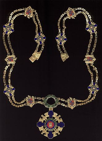 Order of the Star of Romania - Image: Star of Romania Order Collar