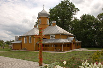 Radekhiv - Image: Stara Cerkiew