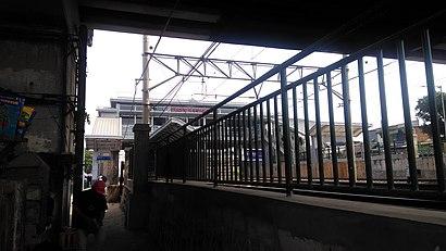 Cara untuk pergi ke Stasiun Buaran menggunakan Transportasi Umum - Tentang tempat tersebut