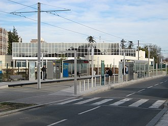 Station Béthanie (Tram de Bordeaux) - Station Béthanie