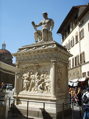 Monument to Giovanni delle Bande Nere, Florence - Monument to Giovanni delle Bande Nere