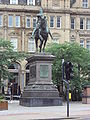 Statue of Edward, the Black Prince, Leeds City Square - DSC07514.JPG