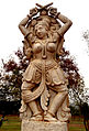 Statue of a dancer at Shilparamam Jaatara.JPG