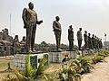 Statues in Hero's Square Owerri Imo State.jpg
