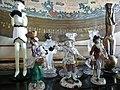 Statuine della Commedia dell'arte in vetro di Murano.JPG