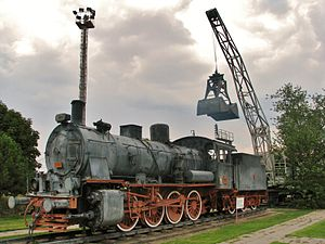 TCDD Open Air Steam Locomotive Museum - Image: Steam locomotive No.44015 Ankara Museum