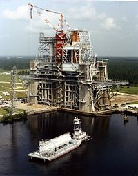 Stennis Space Center Test Stand, Near Picayune
