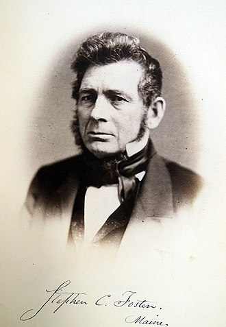 Stephen Clark Foster (Maine) - Image: Stephen Clark Foster, United States Representative from Maine