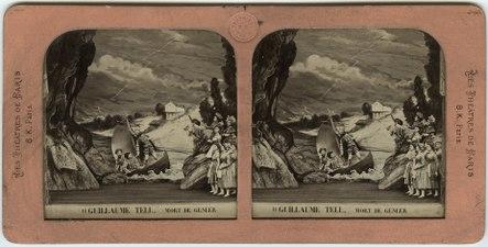 Stereokort, Guillaume Tell 11, Mort de Gesler - SMV - S160a.tif