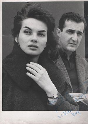 Veljko Bulajić - Image: Stevan Kragujevic, Ewa Krzyzewska & Veljko Bulajic, 1960