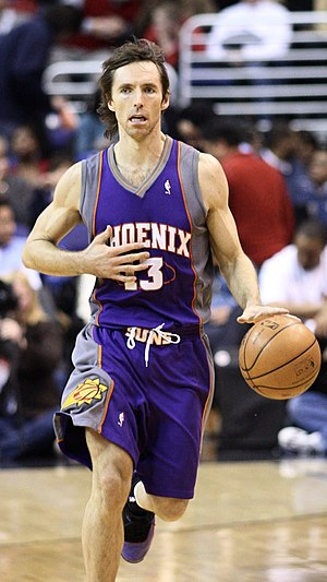 West Coast Conference Men's Basketball Player of the Year - Steve Nash, a former Santa Clara Bronco, is a two-time NBA Most Valuable Player.