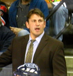 Steve Martinson - Martinson coaching the Chicago Express during the 2011–12 season.